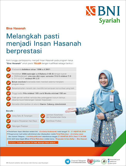 Lowongan Kerja BNI Syariah