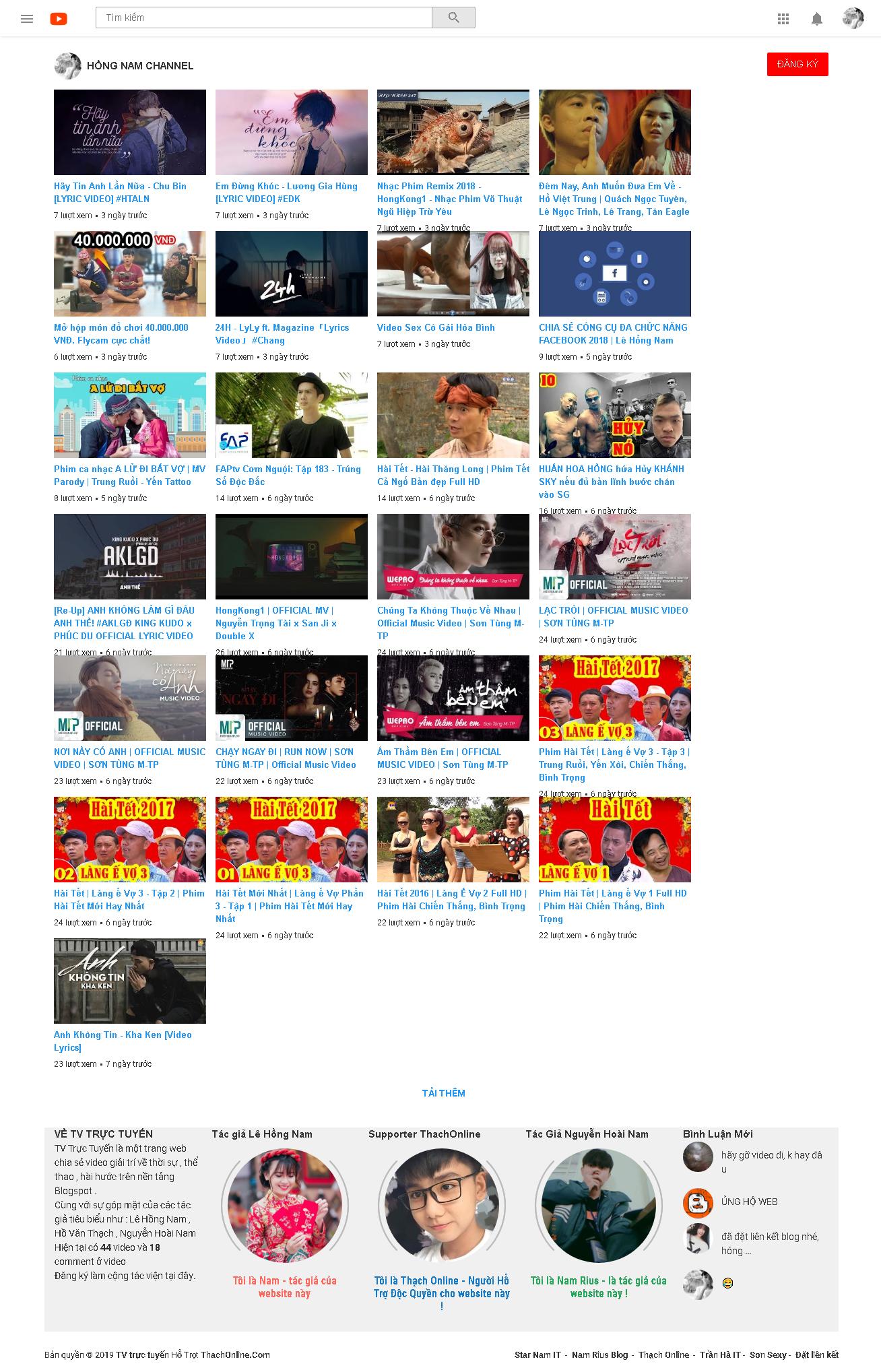 Chia sẻ Template Fake Youtube cực ngầu