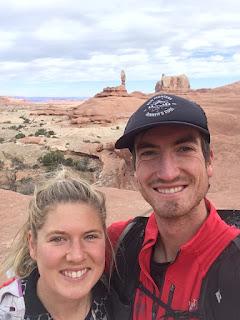 Adam Peterman and Erin Clark