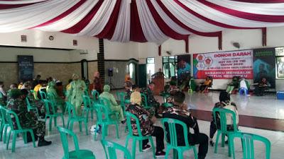 Sambut HUT TNI ke-75, Kodim 0608/Cianjur Gelar Donor Darah