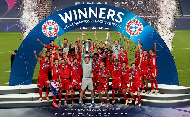 Bayern Munchen Juara Liga Champions 2020