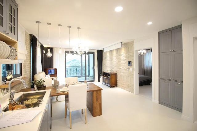 Cucina-Soggiorno-open space-appartamento