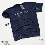 KAOS GREENLIGHT BM ORI FULLPRINT F33