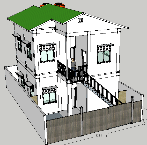 Gambar Desain Rumah 2 Lantai Uk 8x15 - Contoh O