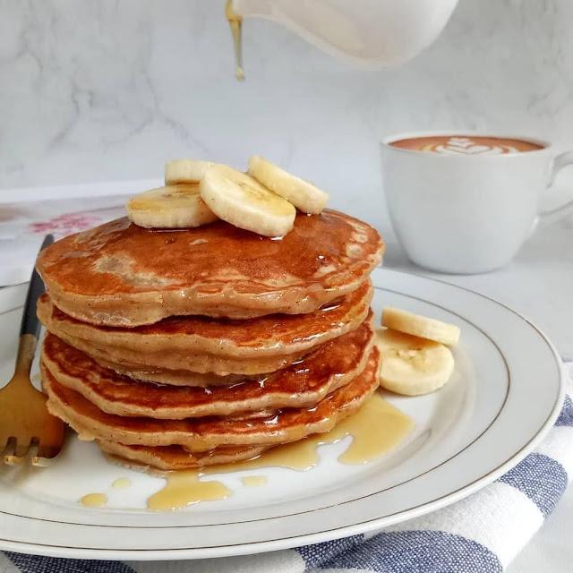 Resep Sajian Fluffy Banana Pancake Yang Menggiurkan