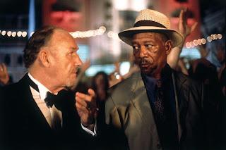 Gene Hackman and Morgan Freeman