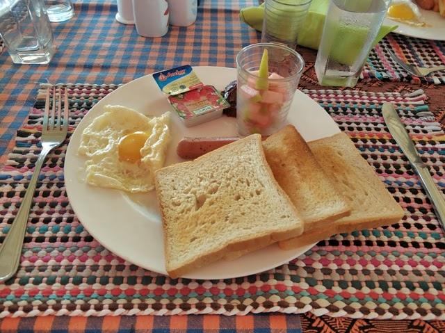 Desayuno en The Home Maldives