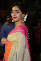 Anu Emmanuel sizzles in khaki saree at Zee Telugu Apsara Awards 2017 01.JPG
