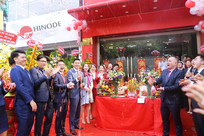 Vietracimex khai xuân dự án Hinode City