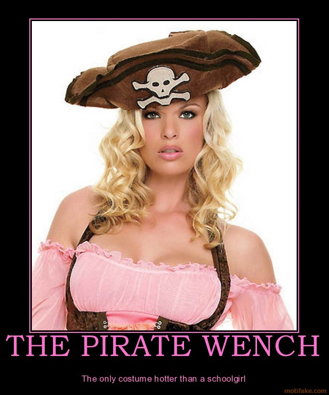 Sexy female pirates naked And have
