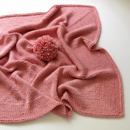 Le Pom Blanket - Free Pattern