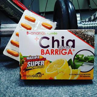 B-Ananás + Limão + CHIA Chapa Barriga - PhytoGold Novo