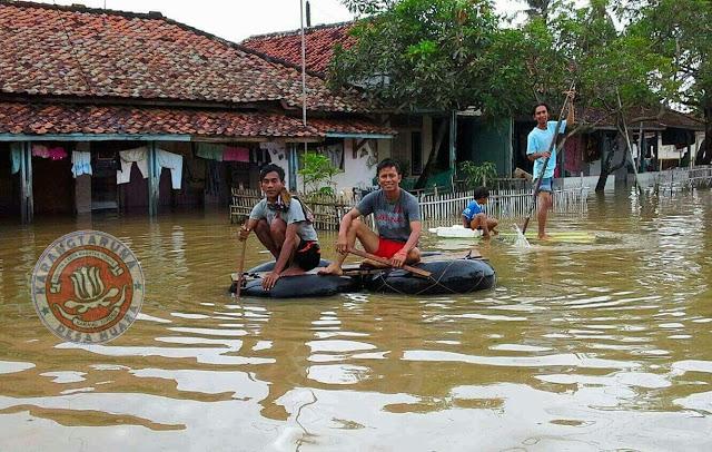 Desa muara kebanjiran, terbesar pada 2014