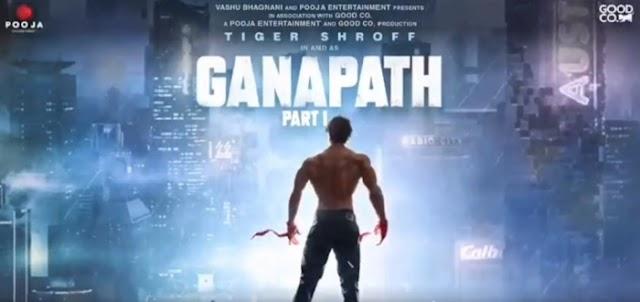 Tiger shroff announced next Movie GANAPATH :  साल 2021 में शूट करेंगे टाइगर गनपत फिल्म, सामने आया मोशन पोस्टर