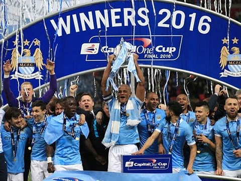 Manchester City vô địch cúp Liên Đoàn