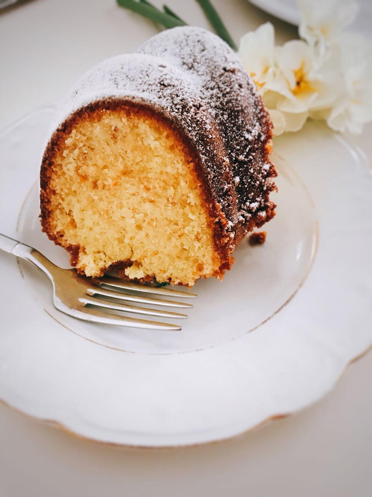 Vanilyalı Kek