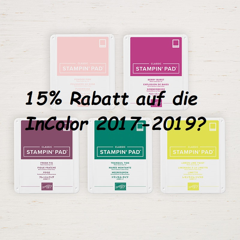 Sicher dir 15% Rabatt in der Sale a Bration 2019