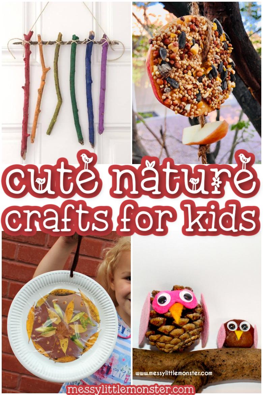 nature craft ideas