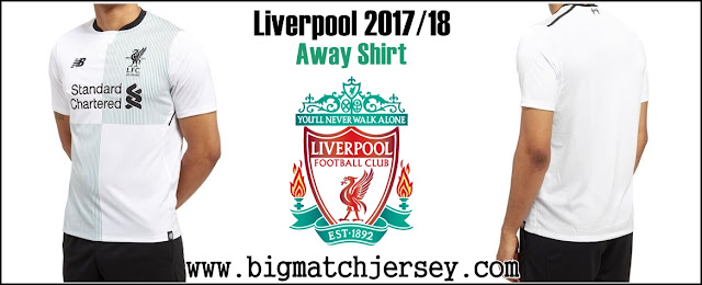 New Balance Liverpool FC 2017-18 Away Shirt