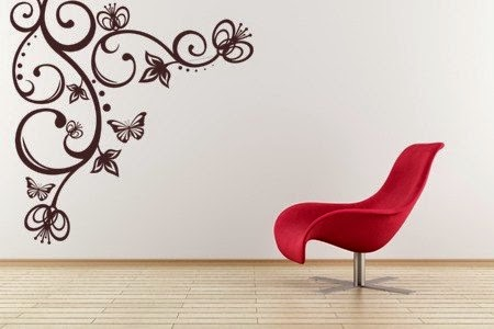 Advantages of Wall Stickers Decor