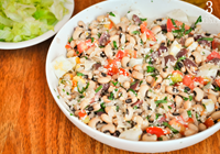 salada feijão fradinho