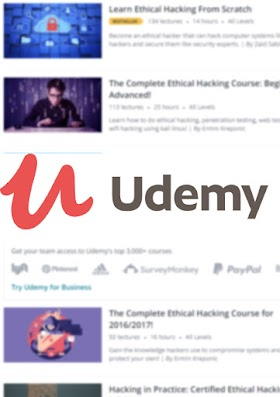 Top Ethical Hacking Courses 2019 by udemy.com