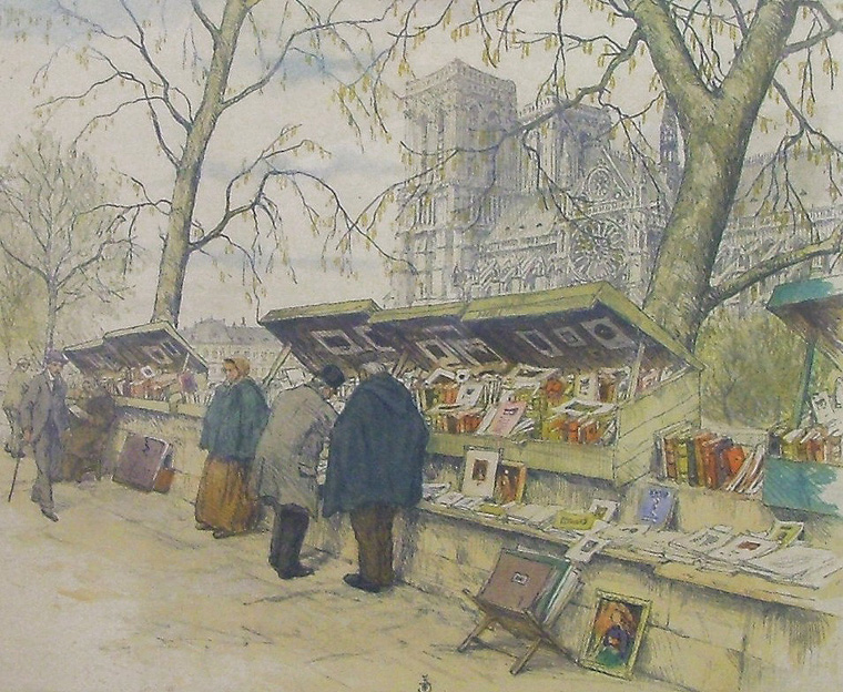 Tavik Frantisek Simon 1877-1942 | Czech Plein-air Colorist painter