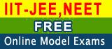 IIT-JEE & NEET Free Online Model Exams