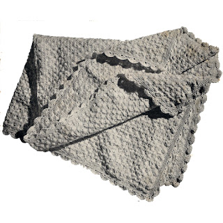 Scalloped Crochet Baby Blanket Pattern