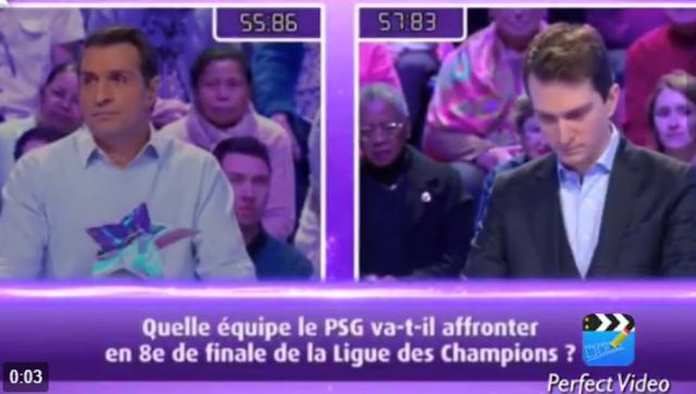 La réponse mythique d'un candidat de TF1 sur le prochain adversaire du PSG en LDC