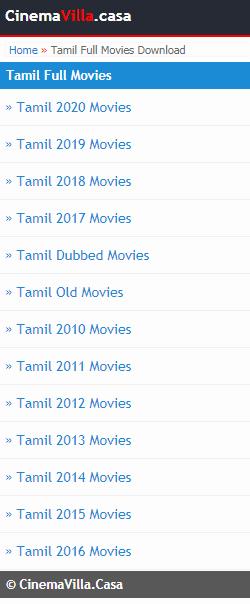 Cinemavilla 2021 - Cinemavilla Illegal Download HD Movies Website, [Live Link], Download   Latest Release Tamil, Malayalam, Telugu Movies, Bollywood, Hollywood Movies, Cinema Villa News About Cinemavilla 2020