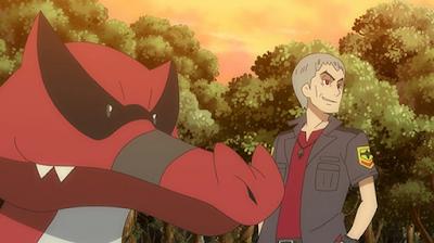 Pokemon Sol y Luna Capitulo 74 Temporada 20 ¿Este desagradable anciano es el Rey de la Isla?