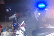Pantau Situasi Kamtibmas, Polsek Maiwa Patroli Blue light