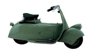 MP5 (Moto Piaggio) Paperino Tahun 1943