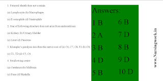 Nursing Officer Exam Questions with Answer- Part 512