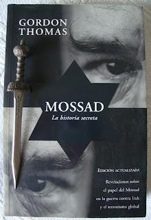 Portada del libro Mossad. La historia secreta, de Gordon Thomas