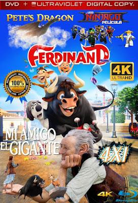 Dragon, Toro y Legos 4X1 COMBO DVD HD LATINO