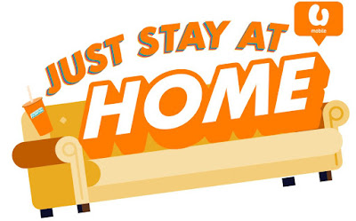 umobile free internet program for stay home campaign