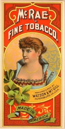 История рекламы. A. Hoen & Co. 1870s