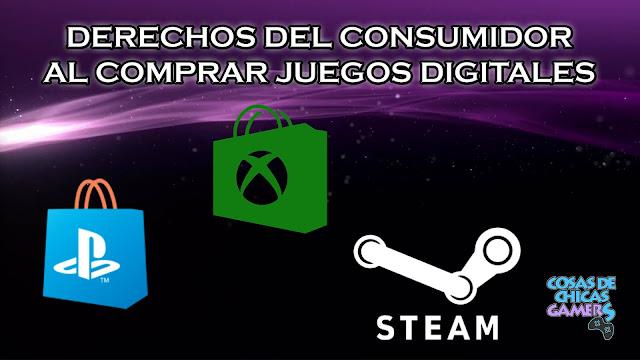 Derechos del consumidor en las compras de juegos digitales