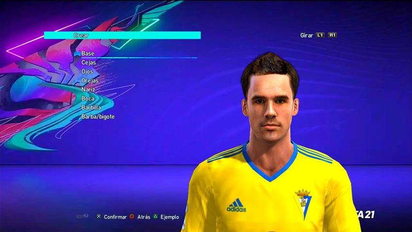 Álvaro Giménez Face For PES 2013