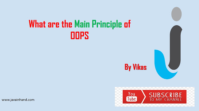 4 OOPS Concepts in JAVA with Realtime Examples