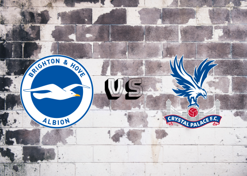 Brighton & Hove Albion vs Crystal Palace  Resumen