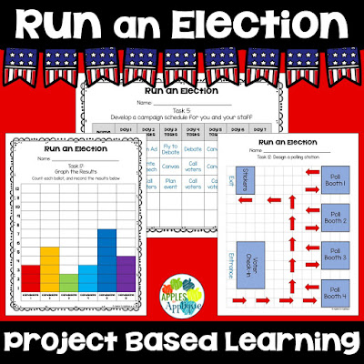 Run an Election: Project Based Learning | Apples to Applique