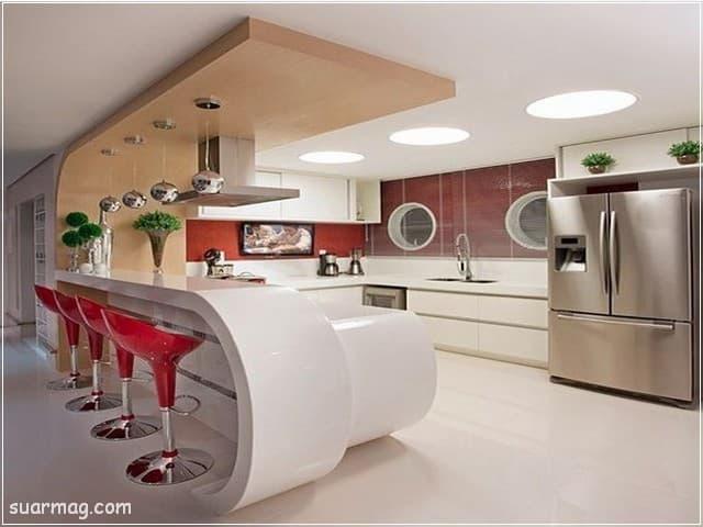 جبس بورد مطابخ 7   Kitchen Gypsum Designs 7