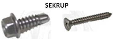 Difference of Nut Bolt Screws