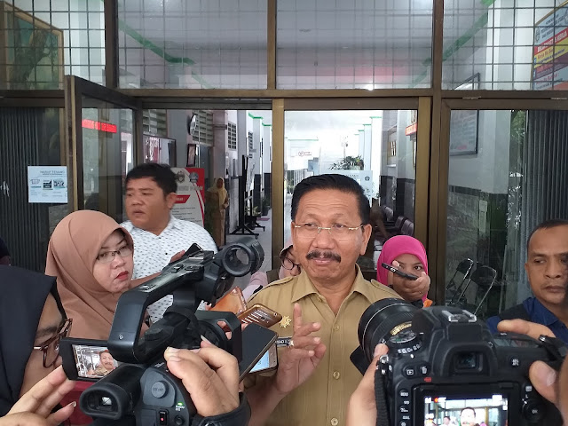 Hari Kedua UNBK SMK di Medan Lancar