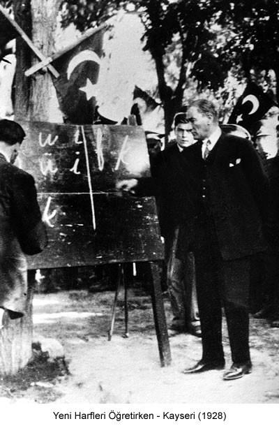 Atatürk Kayseri 1928 Fotoğraf