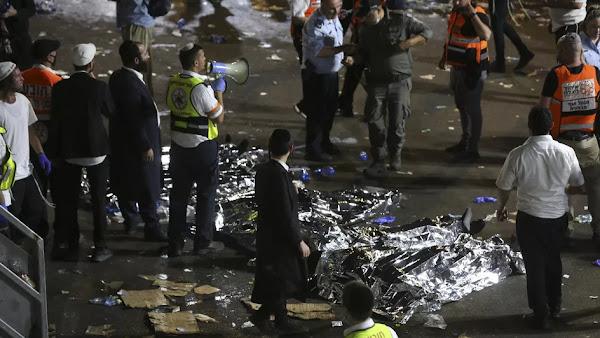 Israël : au moins 44 morts dans un mouvement de foule pendant un pèlerinage juif