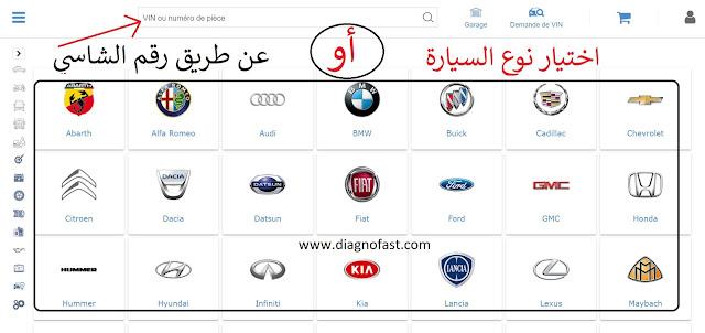 اختيارموديل السيارة